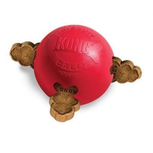 Dog Treat Ball Kong - Biscuit Holder provides hours of fun. Stuff with lots of treats