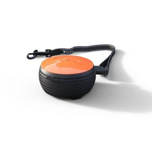 Lishinu retractable dog lead orange. Hands free.