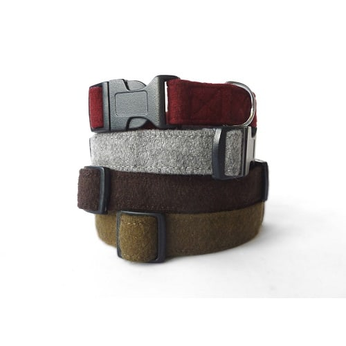 Soft Wool Dog Collars-Haily and Oscar