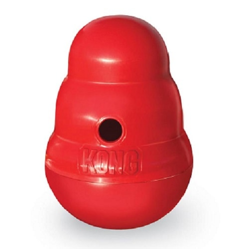 KONG Wobbler Dog toy and food feeder